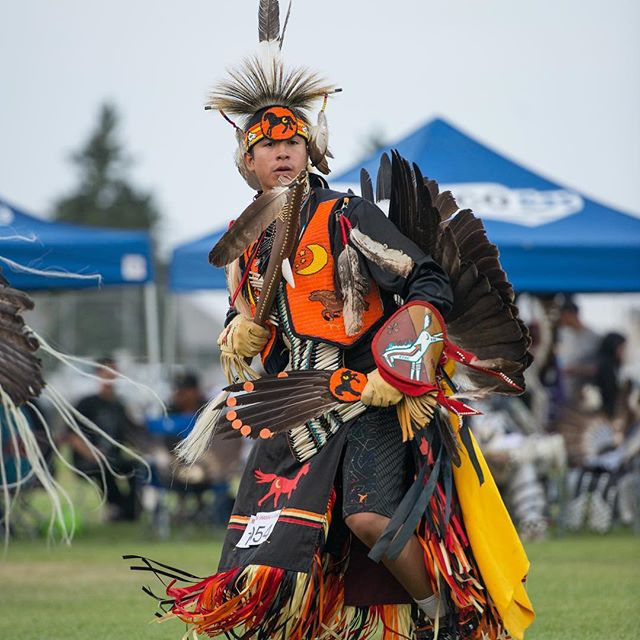 What an amazing experience it is to attend the pow wow here in Cardston. Don't miss out on this experience in August! #explorecardston #nationalindigenouspeoplesday #nationalindigenousday