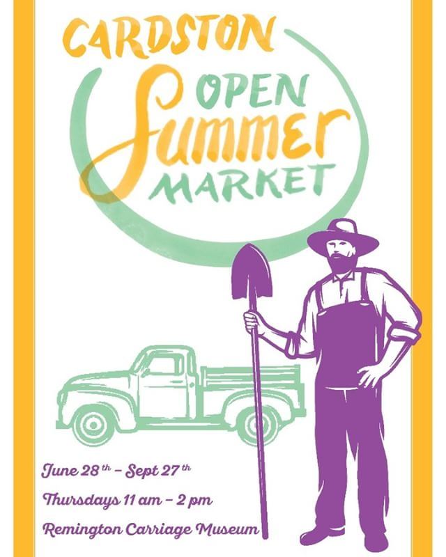 Don't forget that the Summer Market is going on every Thursday at the Remington Carriage Museum! Stop by this Thursday between 11 am - 2pm!  #explorecardston #summermarket #cardston #remingtoncarriagemuseum