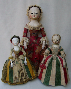 We're not gonna exclude our 90s ladies, though - there were plenty of awesome toys for you, too.  Like these three porcelain-based dolls, which, in the late 18th Century, girls loved to play with to pass the time.  #JustGirlThings