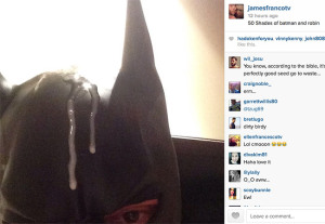James Franco's Last Art Piece. No, really.