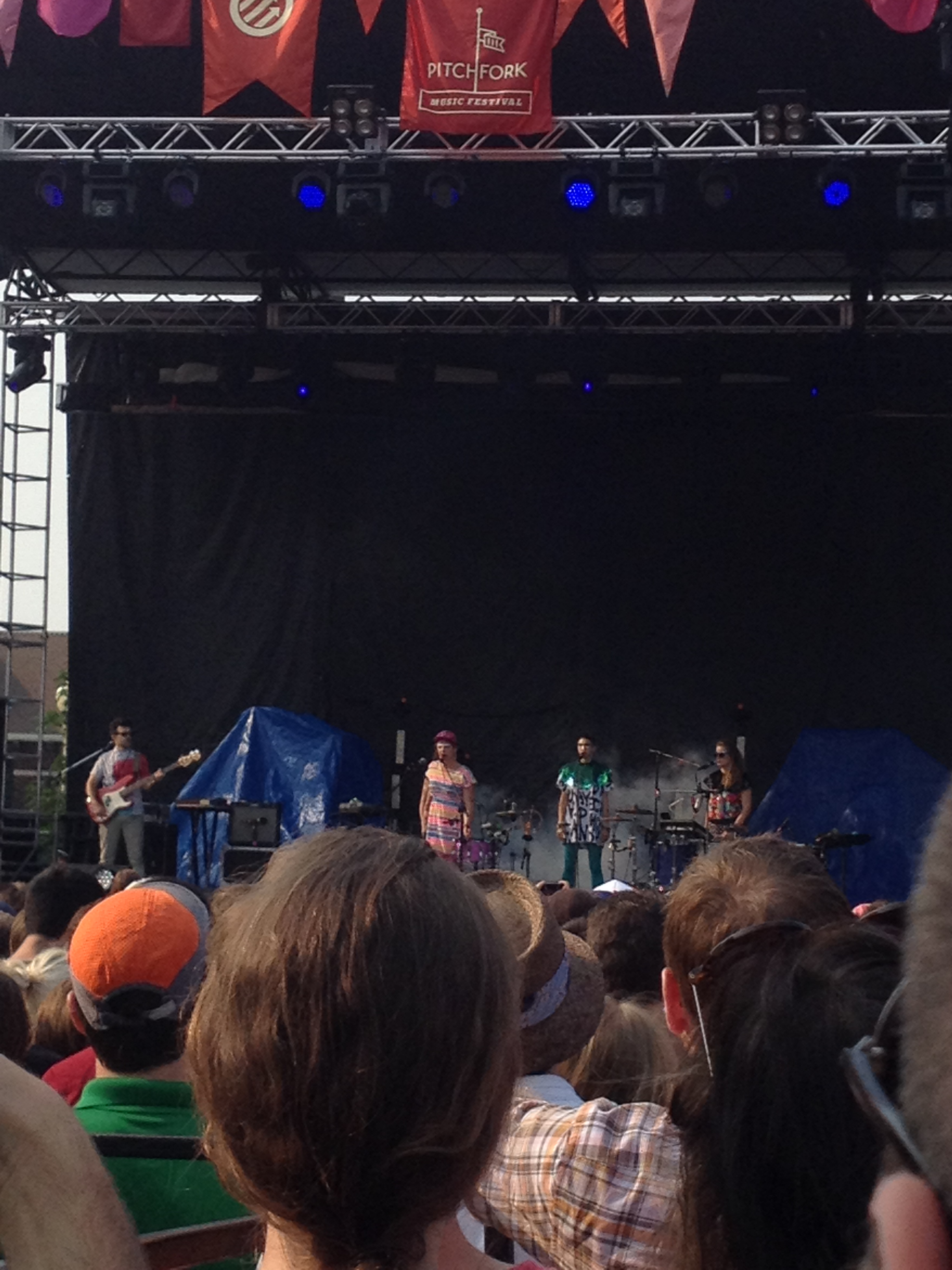 My favorite set of the fest: Tune-Yards