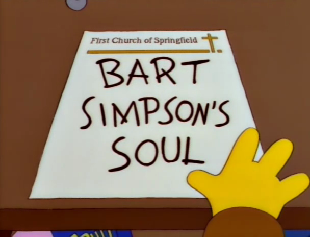Don't do this. (via The Simpsons)