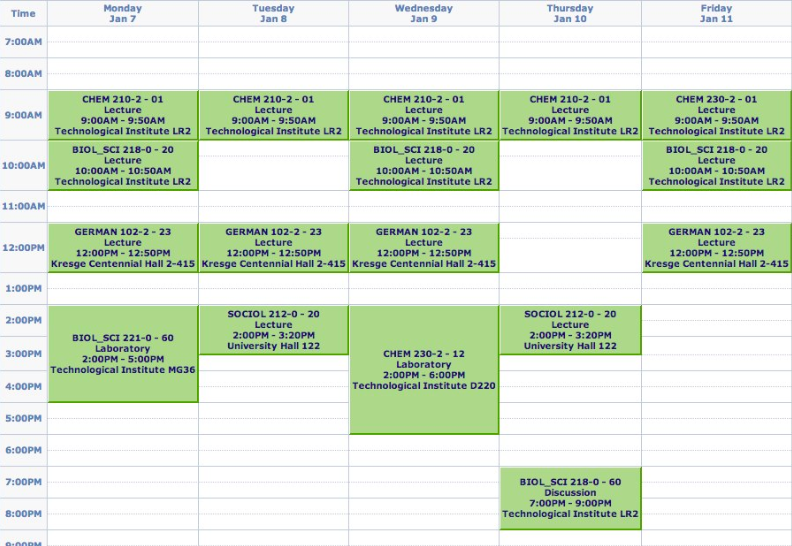 Erik Zorn Schedule