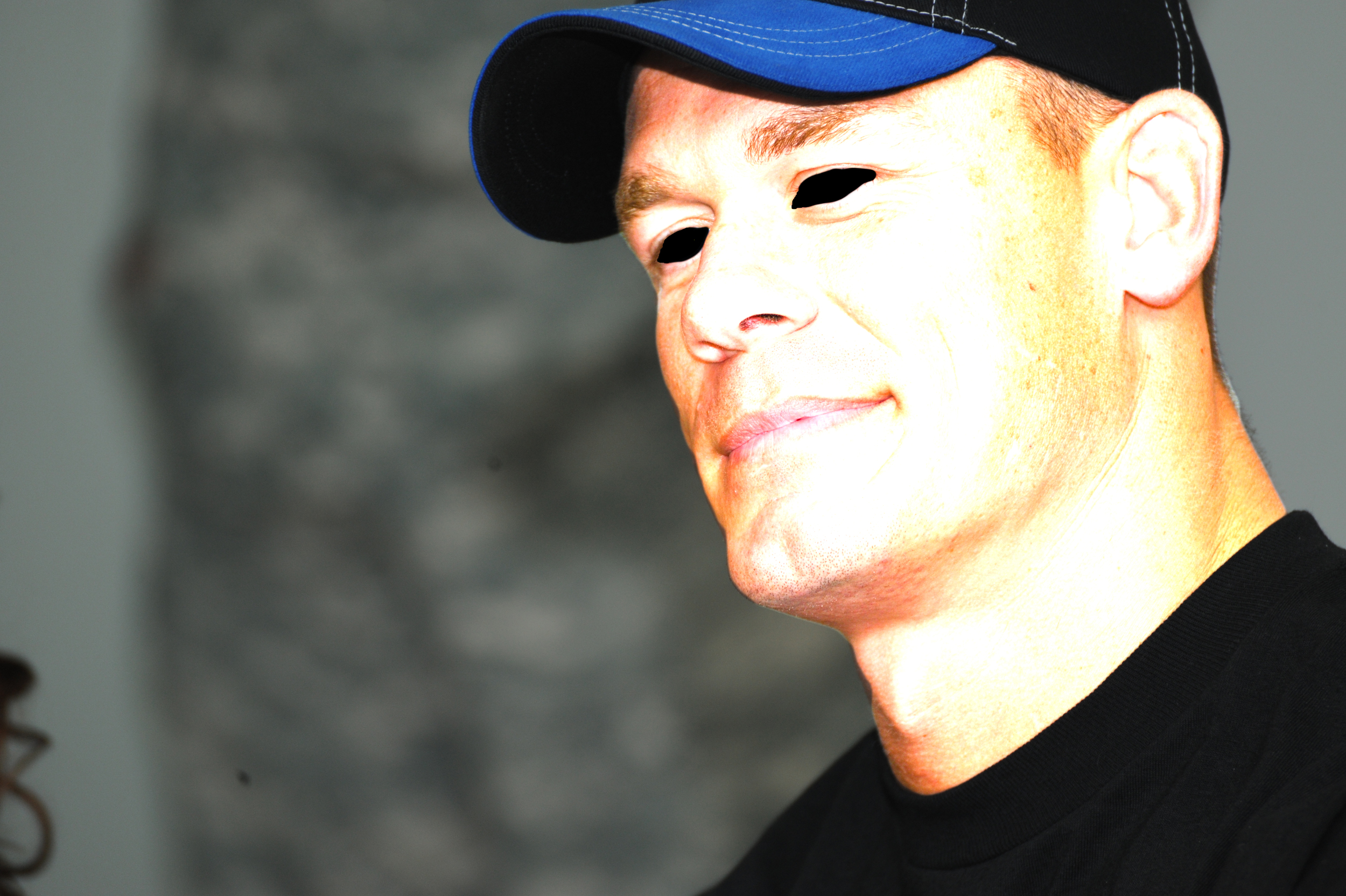 Demonic John Cena, via flickr (modified)