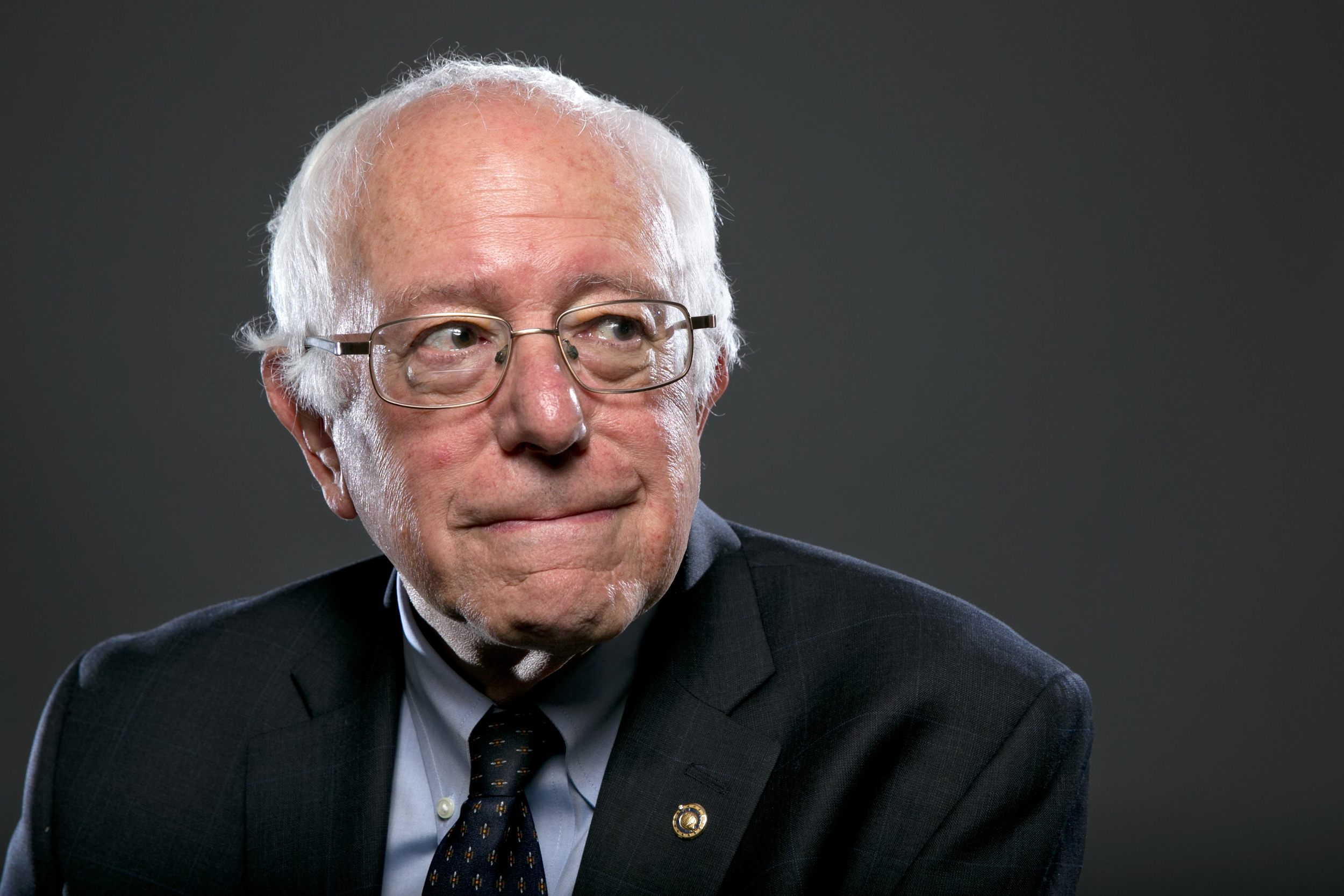 Sanders exudes a quiet calm and resoluteness in every task he works.