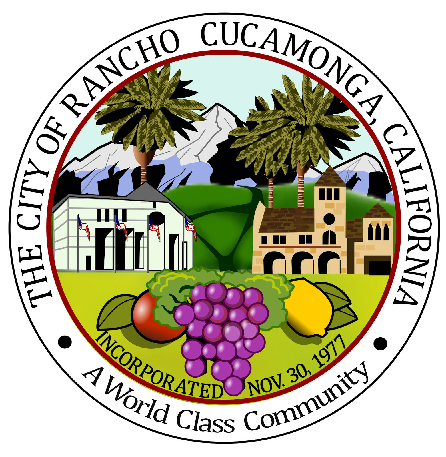Seal of Rancho Cucamonga