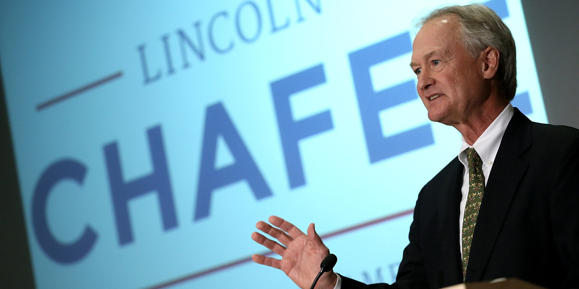 Look, the liberal media has already crowned their winner in Chafee, can we just get this over with?