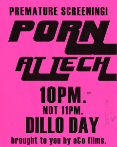 I don't know. But yes, it sure seems like it. (2006 Dillo poster, via library.northwestern.edu)