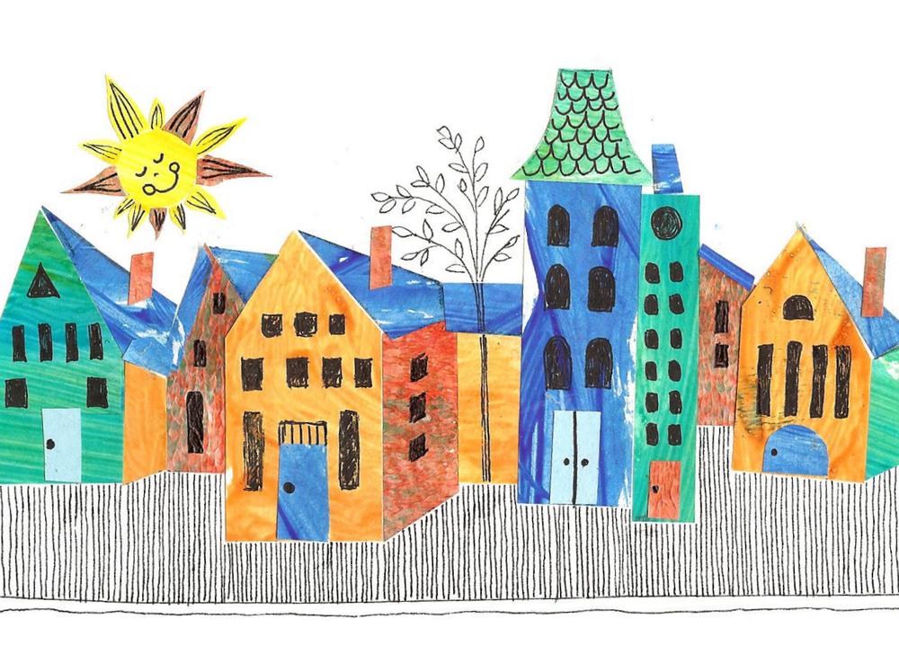 """Sunny Side of the Street"" - Aimee Gangel"