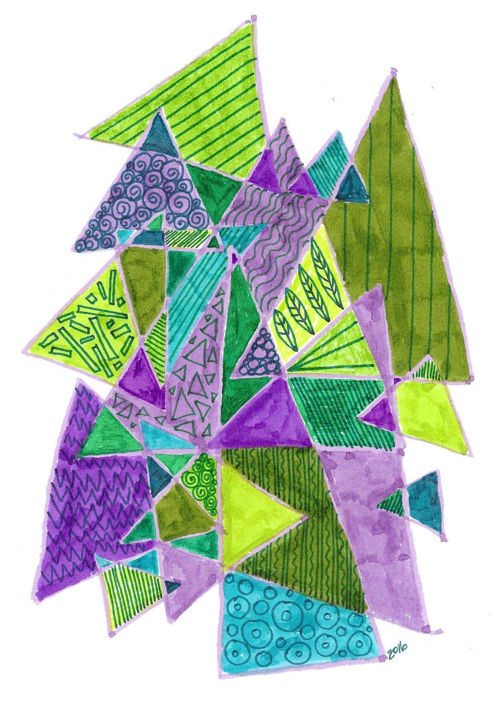 Triangles by Aimee Gangel