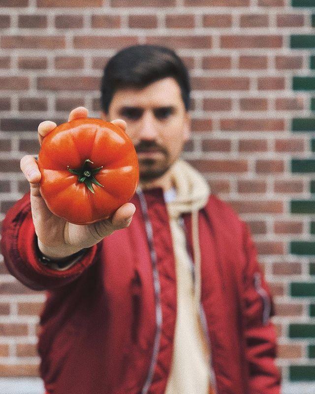 Я наконец-то нашел его! Вот он - идеальный томат 🍅 идеальный томат, дай мне силы! 💪🏻 Tomato perfecto by @fedrafedra