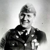 1st Sgt. Elmer Burr, Menasha, WI