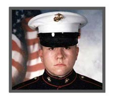 United States Marine Corps Corporal Andrew Brownfield, 24, Akron , OH