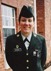 United States Army Pfc. Rachel Bosveld, 19, Waupun, WI
