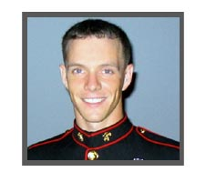 United States Marine Sgt. Benjamin Edinger, 24, Green Bay, WI