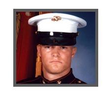 United States Marine LCpl. Brent Vroman, 21, Omro, WI