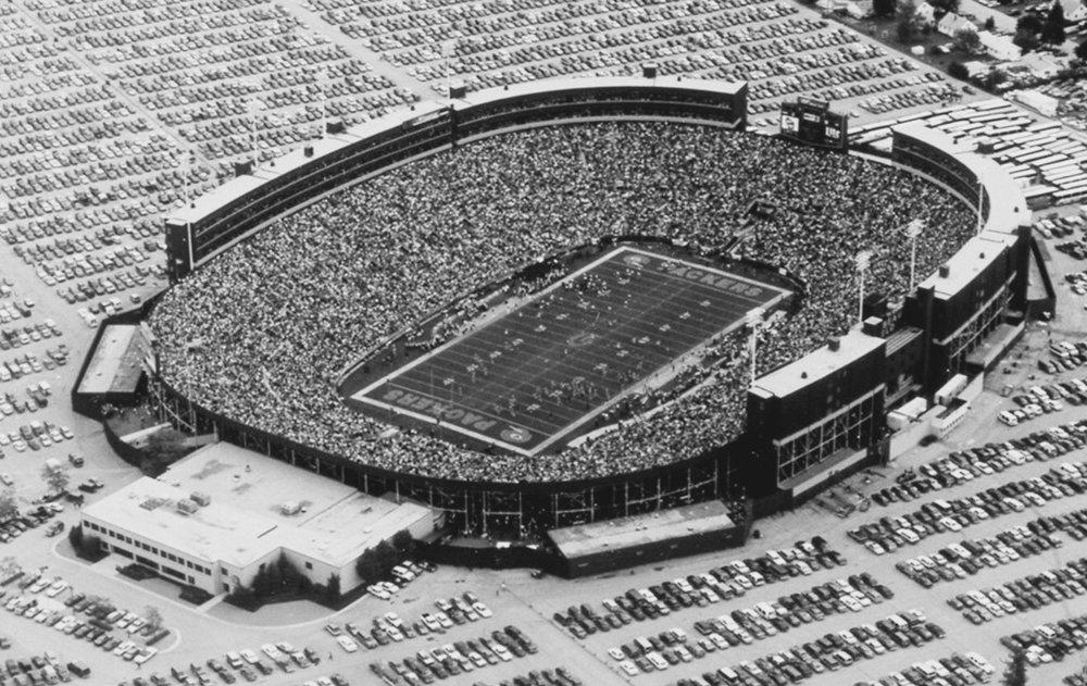 Lambeau Field, August 1992