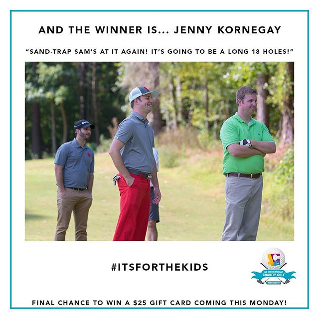 Our week three caption this winner is....Jenny Kornegay! Congrats Jenny 👏🎉 stay tuned for your last chance to win $25 on Monday!