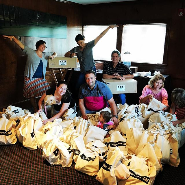 Last chance to win a $25 amazon gift card. #cationthis photo of the golf committee preparing final details while @wintermarie_ and @nstrong74 get ready to pass the baton. Winner announced Monday. #itsforthekids #contest #golf #committee #amazongiftcard #lastchance #monday #winner @macgregordowns @acementor