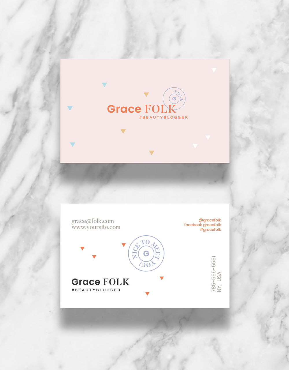 Grace minibrand branding blogging digital design boutique mini branding for bloggers grace folk starter kit everything you need to start a reheart Choice Image