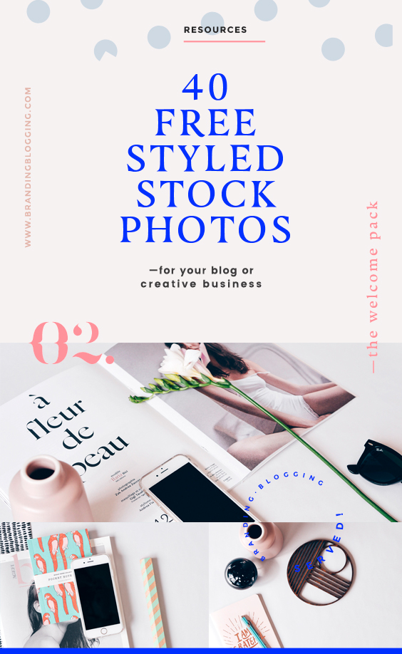 40 free awesome styled stock photos for your blog or creative biz.