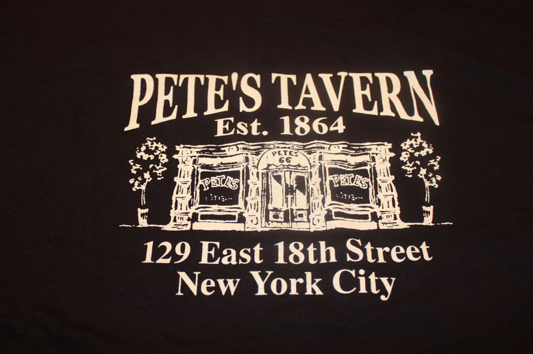 The Gift Of The Magi was allegedly written at Pete's Tavern on Irving Place.
