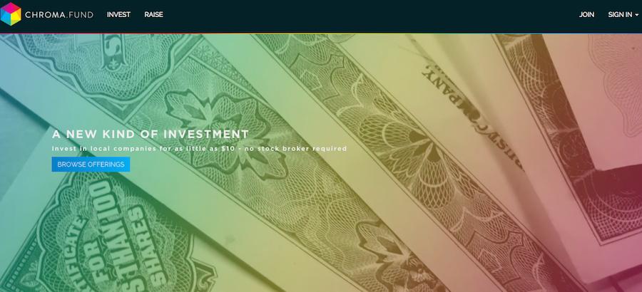 Chroma.fund-website