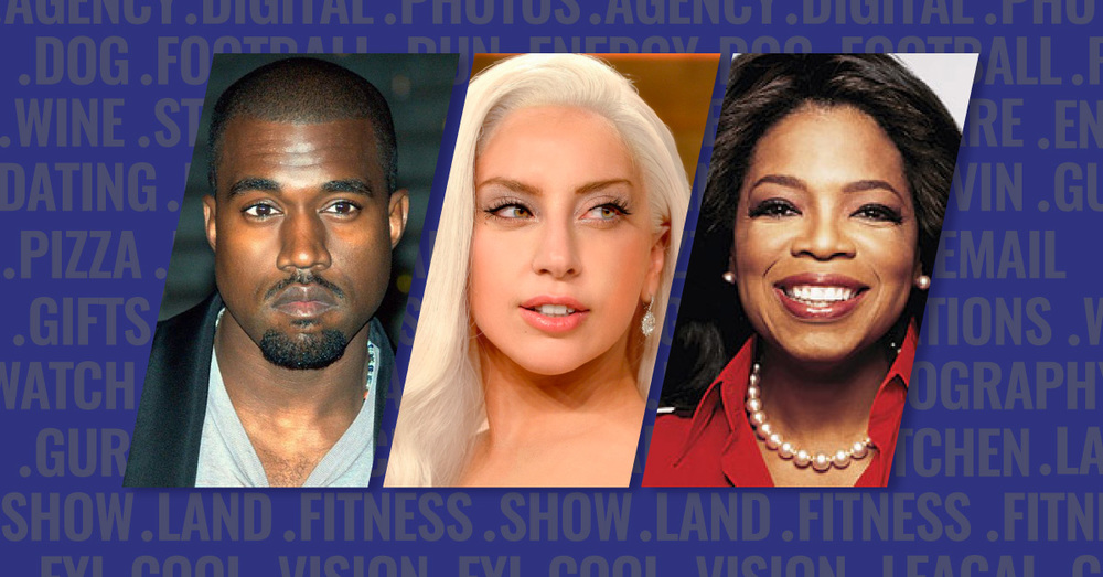 Discover what Kanye West, Lady Gaga and Oprah have in common.