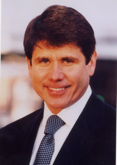 A photo of Rod Blagojevich, who looks a lot like Rick Perry