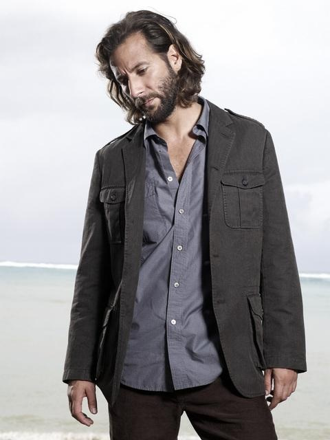 Desmond Hume, in Sideways Clothing