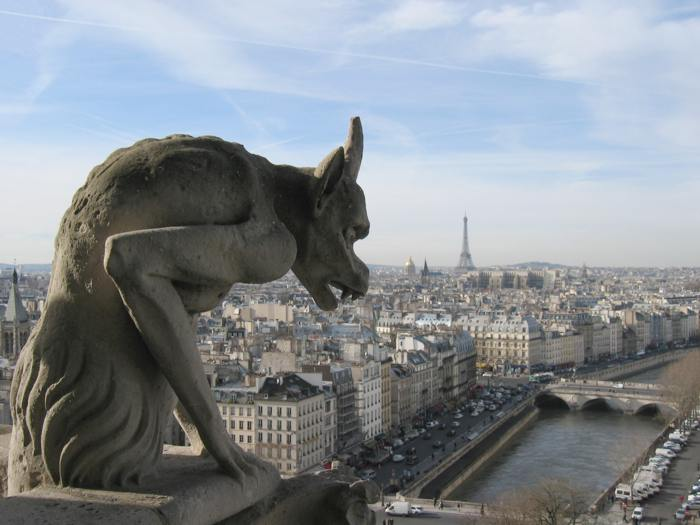 Parisian Gargoyle, courtesy of Wikipedia