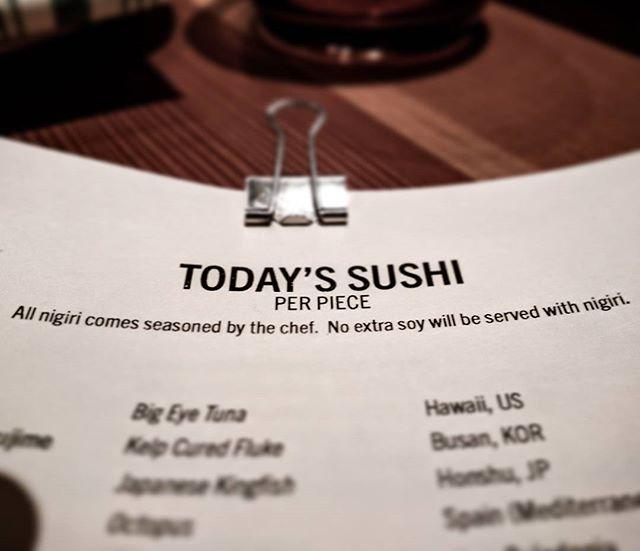 Badass.  #sushi #nigiri #soysauce #houserules