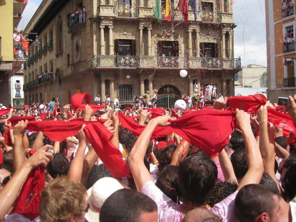 Chupinazo San Fermin Festival