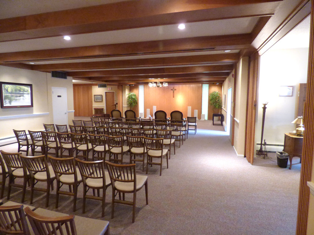Jeffries and keates funeral home - Modern funeral home interior design ...