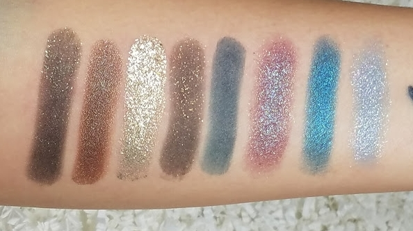 From left to right; Shameless, Partridge, Sleigh, Effect, Fleek, Bae*, Coconut, Pop Rocks*