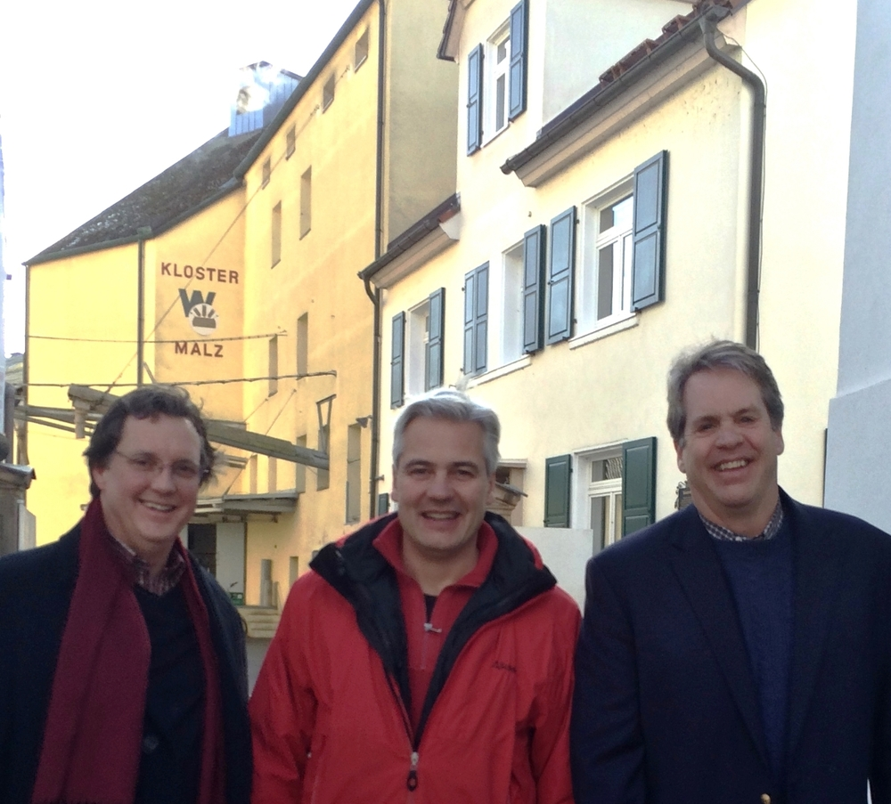 Mike, Stephan, & Mark in Germany