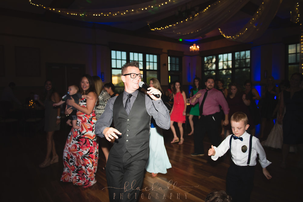 DJ Mike had the house rockin'!