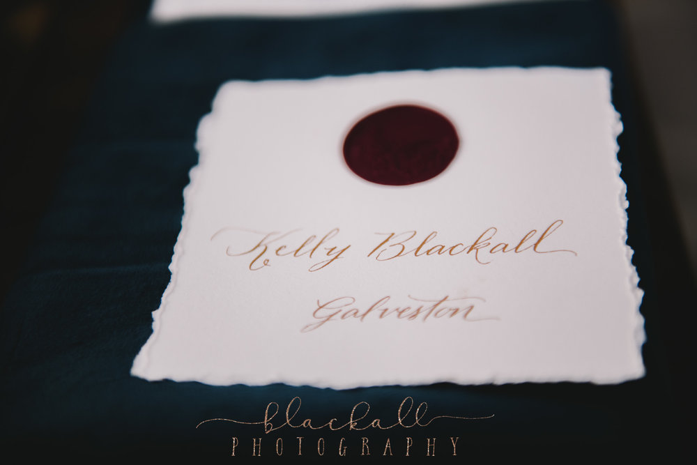 This right here... probably not a big deal to anyone else but to be included and actually have a name card to an assigned table (the Bride & Grooms table no less) is a BIG deal as a photographer. So sweet of this wonderful couple to include me in their celebration as a guest. Truly appreciated.