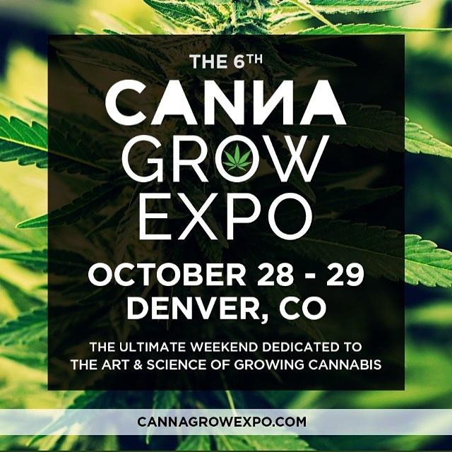 CannaGrow Expo Denver Oct. 28-29! 💚💚💚 #cannagrowexpo #denver #denvercolorado #cannabis #cannabiscommunity #growingcannabis #indoorgrow #outdoorgrow #marijuana #colorado #information #community #medicine #hemp