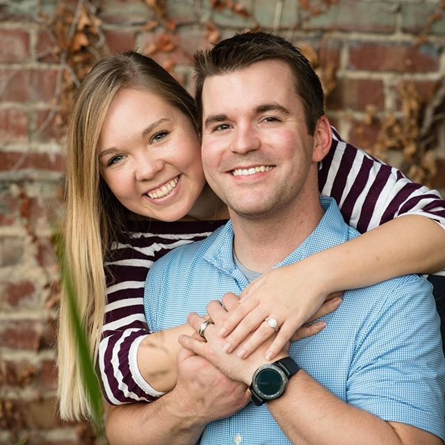 3-week countdown for this vibrant couple! #herecomesthebride #herecomesthegroom #wichitaweddingphotographer #wichita #engaged #adorable #lovebirds #ilovemyjob Shout out to @meadscorner  for being an awesome place for a cozy client meeting!