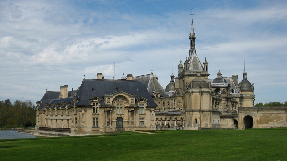 James Hemings trained at Chateau Chantilly, outside of Paris.