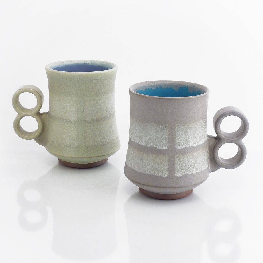 """Broken Stripe"" mugs"