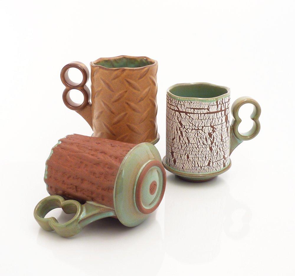 Texture Slab Mugs