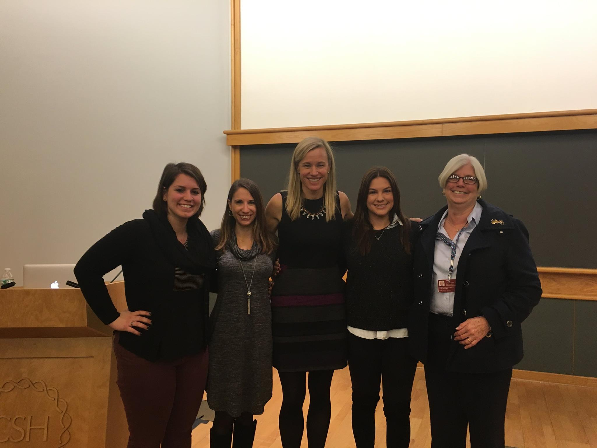 From left to right: Jackie, Lital, Liz, Alex and Katie Raftery (VP Human Resources)