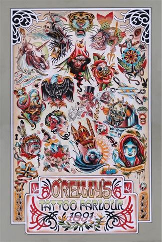 O Reilly S Poster Samuel O Reilly S Tattoo Parlour