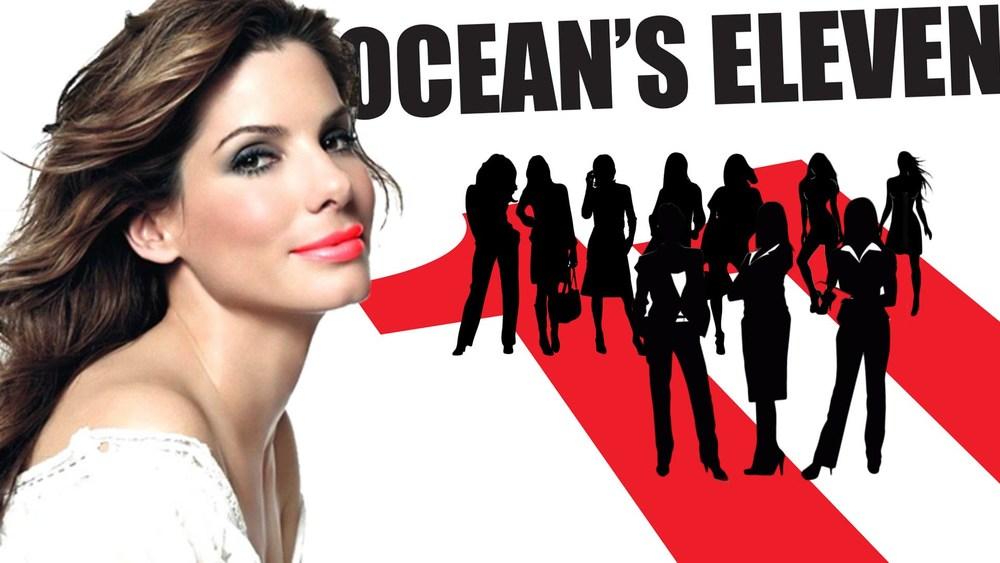Sandra Bullock is the new Danny Ocean