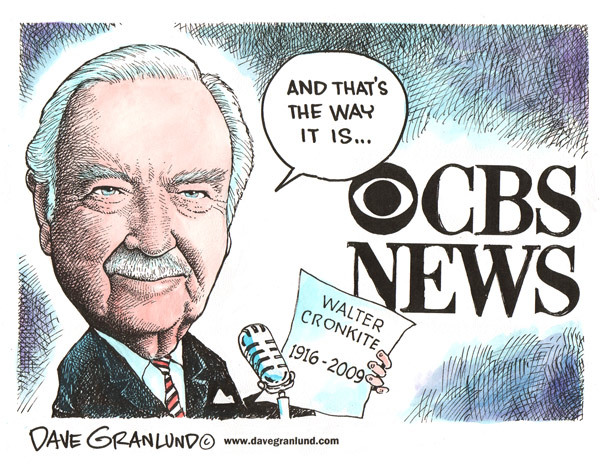 He may STILL be America's most trusted name in news.