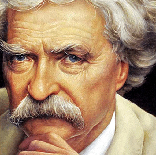 Mark Twain...not Colonel Sanders