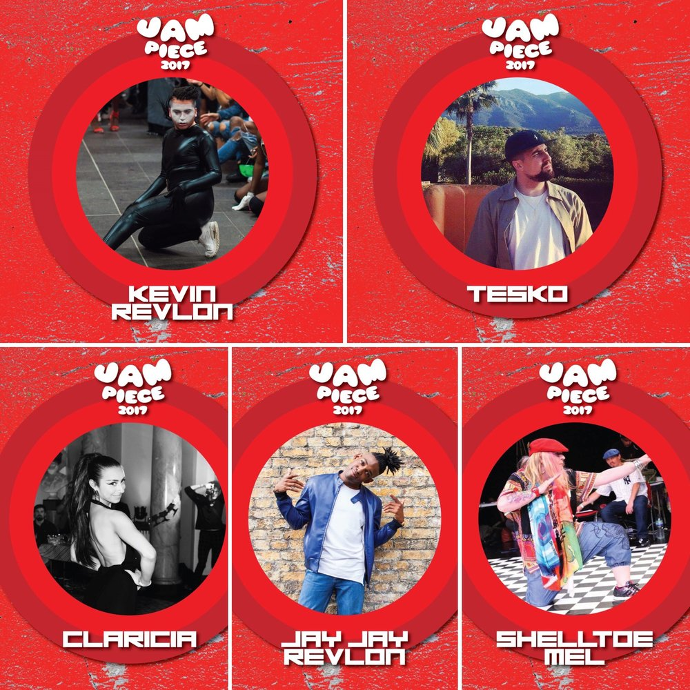HOST: Kevin Revlon DJ: Tesko JUDGES: Claricia, Jay Jay Revlon and Shelltoe Mel