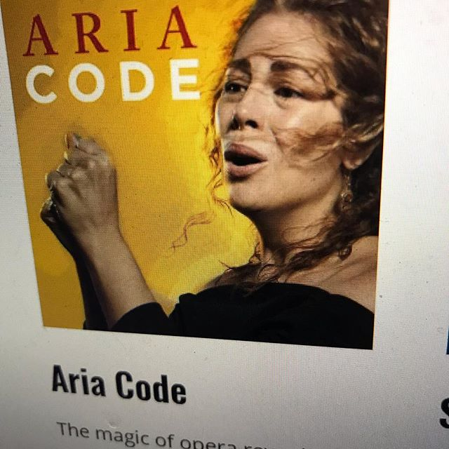 My favorite new favorite  #podcast of 2018 - Aria Code - each episode focuses on deconstructing one #aria - it is Marvelous & I learn so much each episode- thanks @rhiannongiddens #opera #lifelonglearning